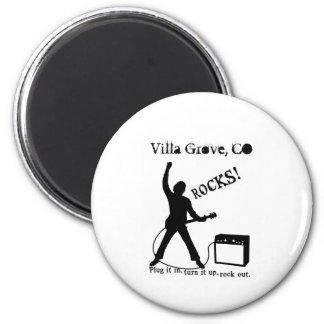 Villa Grove CO Magnet