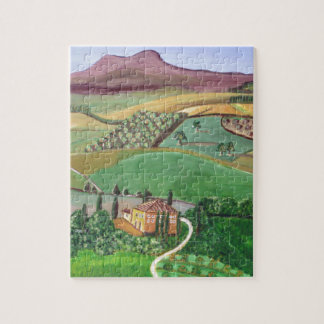 Villa in the Hill Jigsaw Puzzle