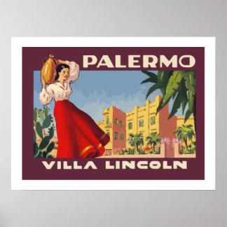 Villa Lincoln (Palermo) Poster