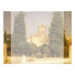 Villa Malta, Rome by Lord Leighton 21.5 Cm X 28 Cm Flyer