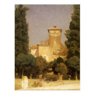 Villa Malta, Rome by Lord Leighton Postcard