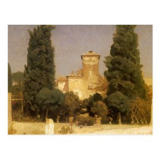 Villa Malta Rome Leighton Vintage Victorian Art Post Cards