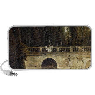 Villa Medici in Rome by Diego Velazquez Notebook Speakers