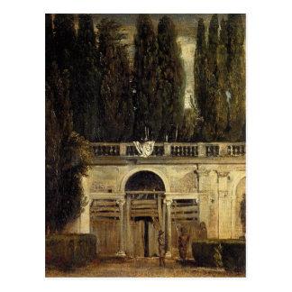 Villa Medici in Rome by Diego Velazquez Postcard