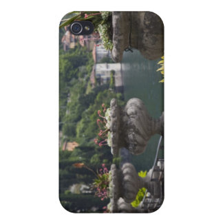 Villa Monastero, gardens and lakefront, Varenna, Case For iPhone 4