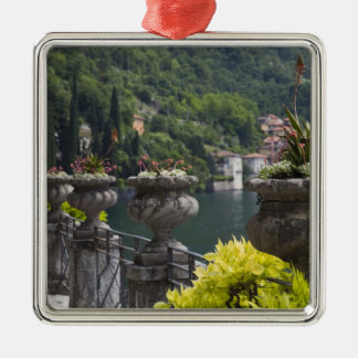 Villa Monastero, gardens and lakefront, Varenna, Christmas Ornament