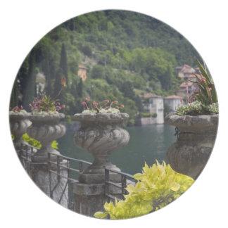Villa Monastero, gardens and lakefront, Varenna, Dinner Plates