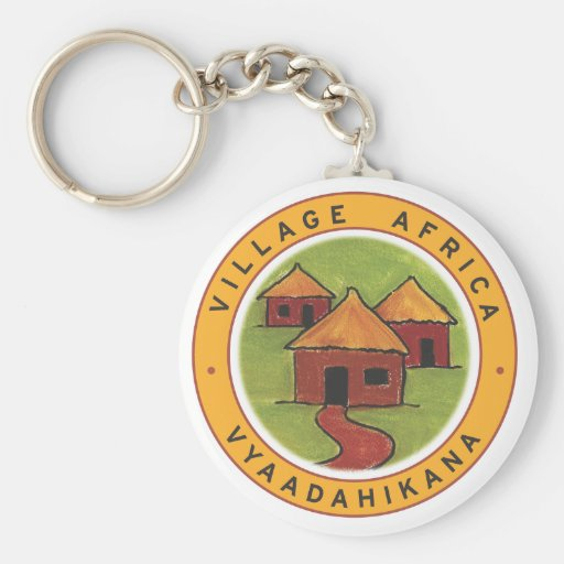 Village Africa keyring Key Chains