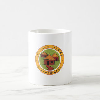 Village Africa mug