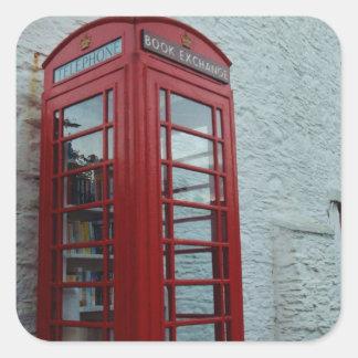 Village Book Swap Square Sticker