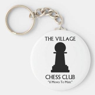 Village Chess Club Key Ring