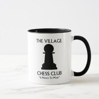 Village Chess Club Mug