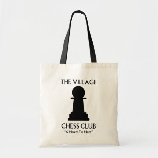 Village Chess Club Tote Bag