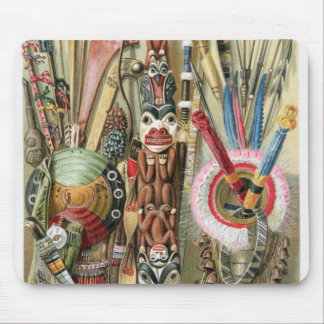 Village chief of the Loango Coast Mouse Mat
