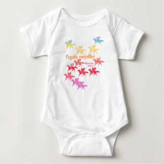 Village colorful of Sumida river Seki house Baby Bodysuit