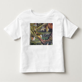 Village farmers doing work in April Toddler T-Shirt