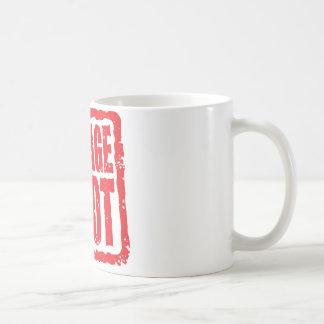 Village Idiot stamp Basic White Mug