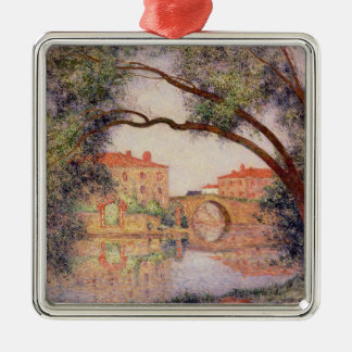 Village in Normandy Christmas Ornament