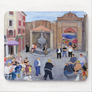 Village in Provence Mouse Mat