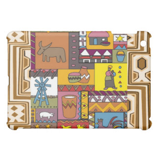 Village life - African Art iPad Mini Case