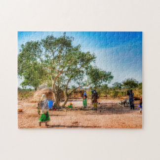 Village Life. Jigsaw Puzzle