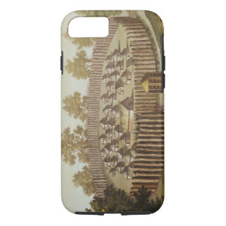 Village of an Indigenous Tribe in Florida, engrave iPhone 8/7 Case