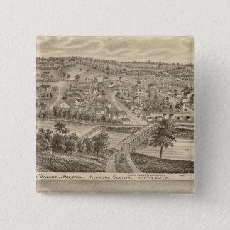 Village of Preston and South Ruthford, Minnesota 15 Cm Square Badge