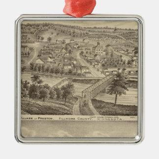 Village of Preston and South Ruthford, Minnesota Christmas Ornament