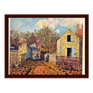 Village Of Voisins (Now Suburb Of Louveciennes) Postcard