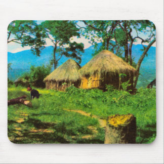 Village, plateau  of Benguela, Angola Mouse Pad