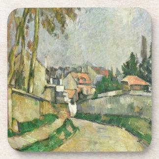 Village Road, 1879-82 (oil on canvas) Beverage Coaster