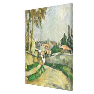 Village Road, 1879-82 (oil on canvas) Canvas Print