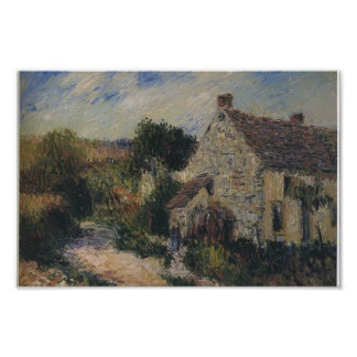 Village Road by Gustave Loiseau Posters