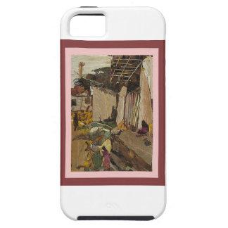 Village scene iPhone 5 cases