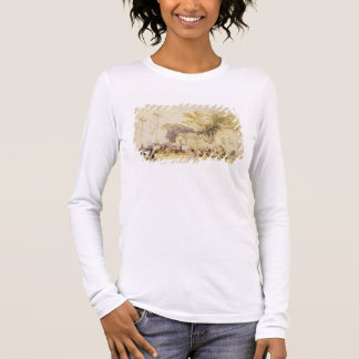 Village Square in the Bay of Hong Kong, plate 5 fr Long Sleeve T-Shirt