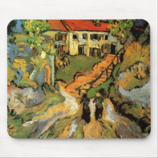 Village Street and Steps in Auvers - van Gogh Mouse Pad