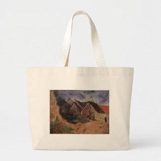 Village street, Osny by Paul Gauguin Jumbo Tote Bag