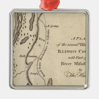 Villages in the Illinois Country Christmas Ornament