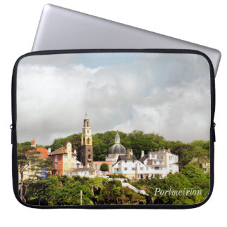 VILLAGES OF WALES LAPTOP SLEEVE