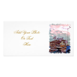 VILLAGES OF WALES PERSONALISED PHOTO CARD