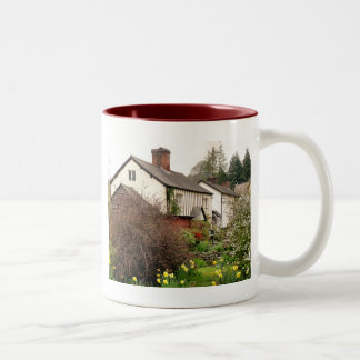 VILLAGES OF WALES Two-Tone COFFEE MUG