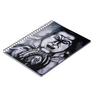 Villain holding orb Notebook