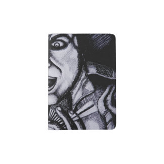 Villain holding orb Passport Holder
