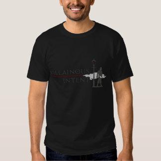 Villainous Intent dark T shirt