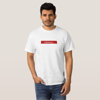 Villainous Minimal Design T-Shirt