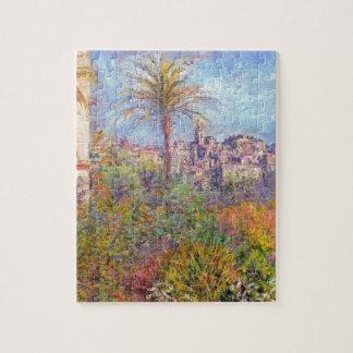 Villas at Bordighera 03 by Claude Monet Jigsaw Puzzle