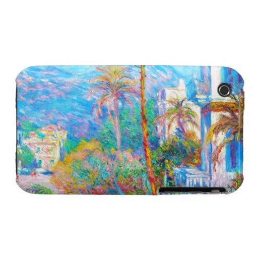 Villas at Bordighera  Claude Monet iPhone 3 Covers