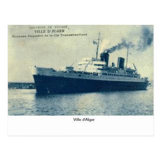 Ville d Alger Post Card
