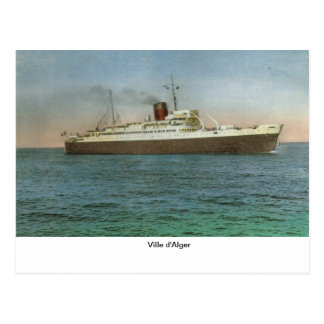 Ville d'Alger 1 Postcard