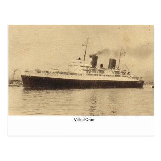 Ville d'Oran Postcard